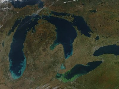 Climate change likely to increase Lake Erie algae blooms and 'dead zones,' U-M ecologist says