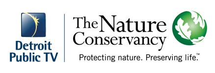 Detroit Public TV and the Nature Conservancy (logos)