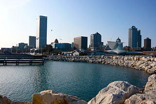 Downtown Milwaukee - the scene for Great Lakes Week 2013