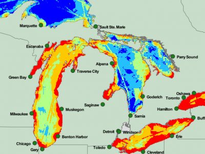 U of M Researchers Launch Great Lakes Mapping Tool