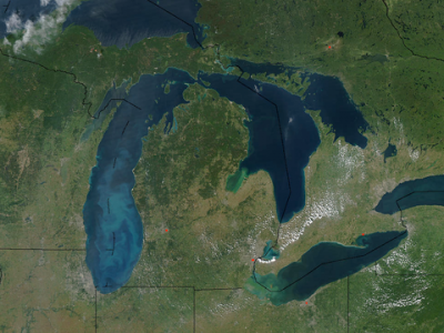 New NASA Images on the Great Lakes