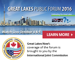 Great Lakes Public Forum - October 4 & 5 Watch Live - Learn more now