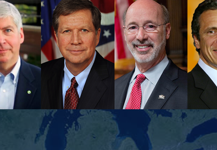 Great Lakes Governors vow to pressure congress to preserve funding