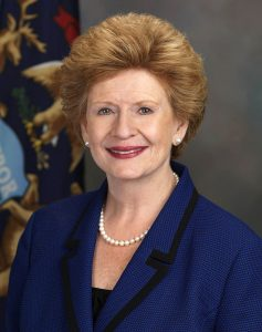 Photo courtesy of the office of Senator Debbie Stabenow via Wikimedia