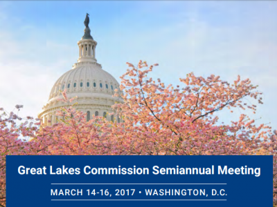 """Great Lakes Commission Semi-Annual Meeting and Great Lakes Day: U.S. Senator Debbie Stabenow says """"It's All Hands On Deck"""" for People Who Care About the Great Lakes"""