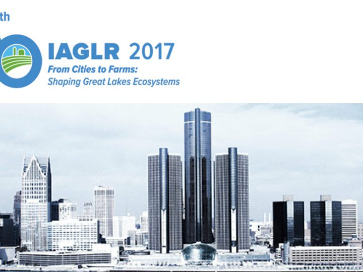 """Complacency is the greatest threat to the Great Lakes"" – Cameron Davis at IAGLR 2017 in Detroit"