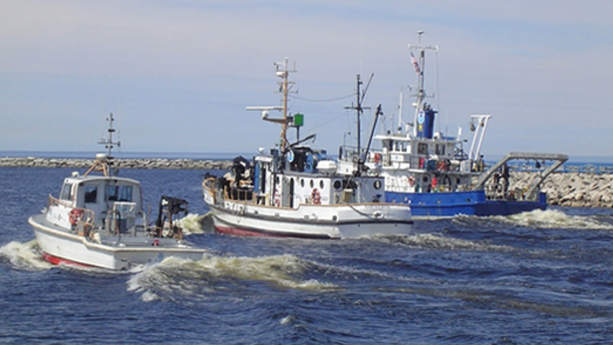 NOAA GLERL research boats