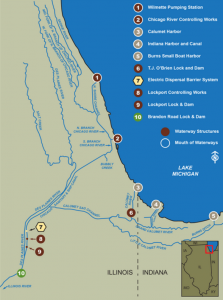 Map courtesy of United States Army Corps of Engineers
