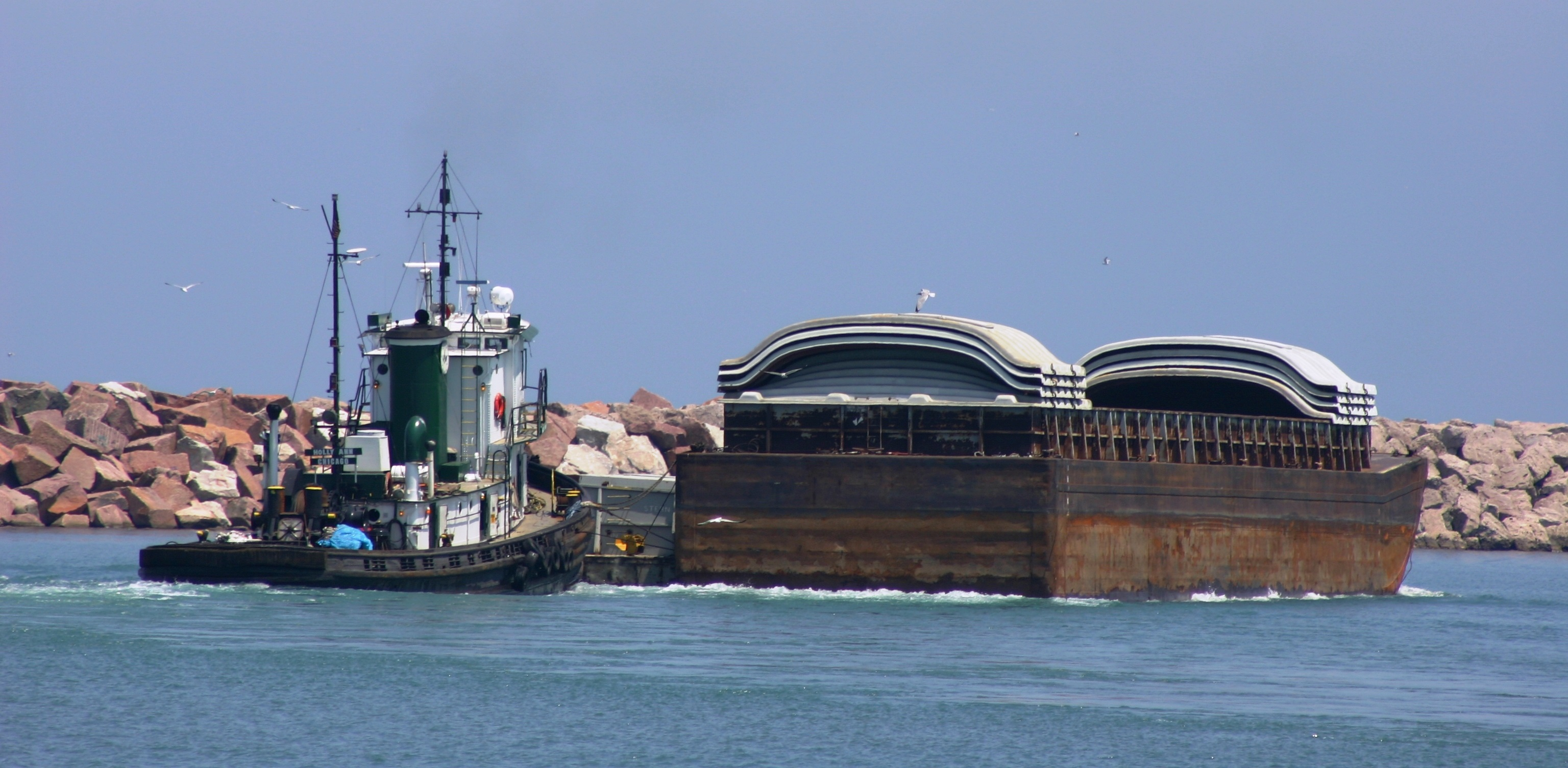 Photo courtesy of C:\Users\mseller\Desktop\Great Lakes Now\Gary Wilson\Keeping carp out of the Great Lakes\Ian_Hirt,_Port_Director_Port of Indiana–Burns Harbor