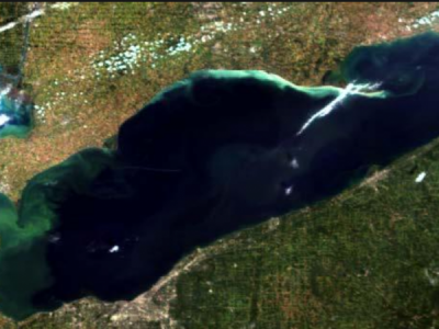 Mild Year for Lake Erie algae blooms