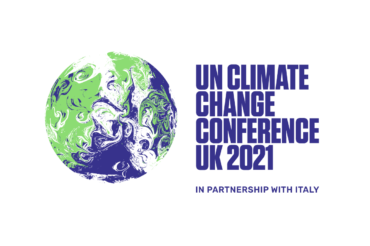 Logo for the United Nations Climate Change Conference UK 2021