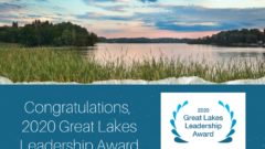 Winning Work: Great Lakes Now recognized for communication excellence by Great Lakes Protection Fund
