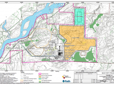 Gold Mine in Michigan's Upper Peninsula on Menominee River gets Key Approval