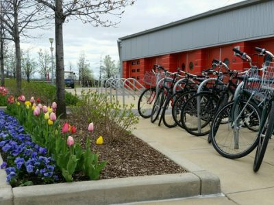 Green Infrastructure: a park and a parking lot at a time…