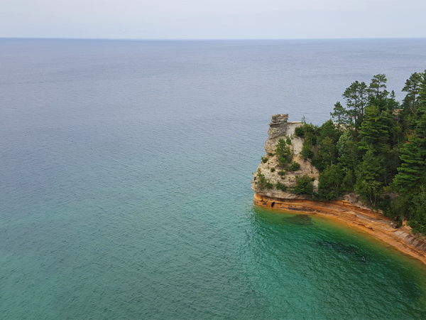 Pictured Rocks, Photo by Cheryl Jones