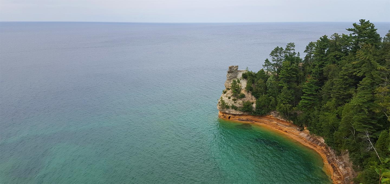 Pictured Rocks, Photo by Cheryl Jones