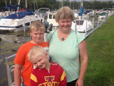How they spent their summer vacation: swimming all five Great Lakes