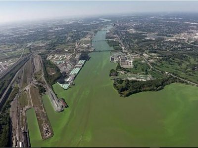 Planes, drone monitor harmful algae in Lake Erie