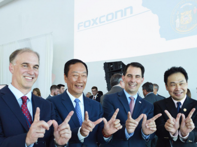 Rush job for Foxconn Lake Michigan Diversion