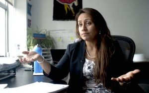Detroit City Councilmember Raquel Castañeda-López spent four years getting the fugitive dust ordinance enacted Bill Kubota