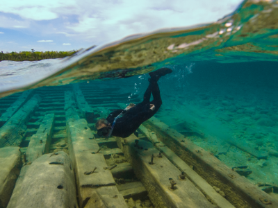 "Lake Huron's Thunder Bay: Treasures under the ""Sweet Sea"""