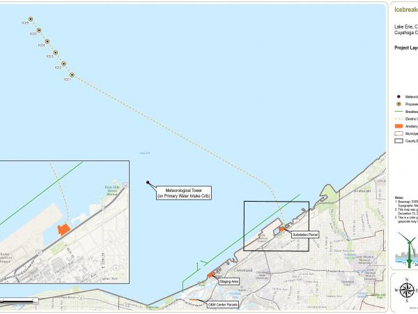 Image courtesy of Lake Erie Energy Development Corporation
