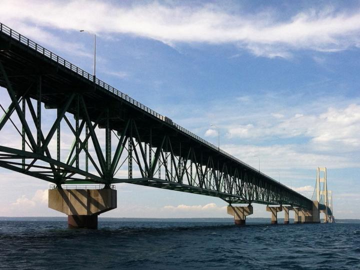 Enbridge's Line 5 pipeline temporarily shut down in the Straits of Mackinac