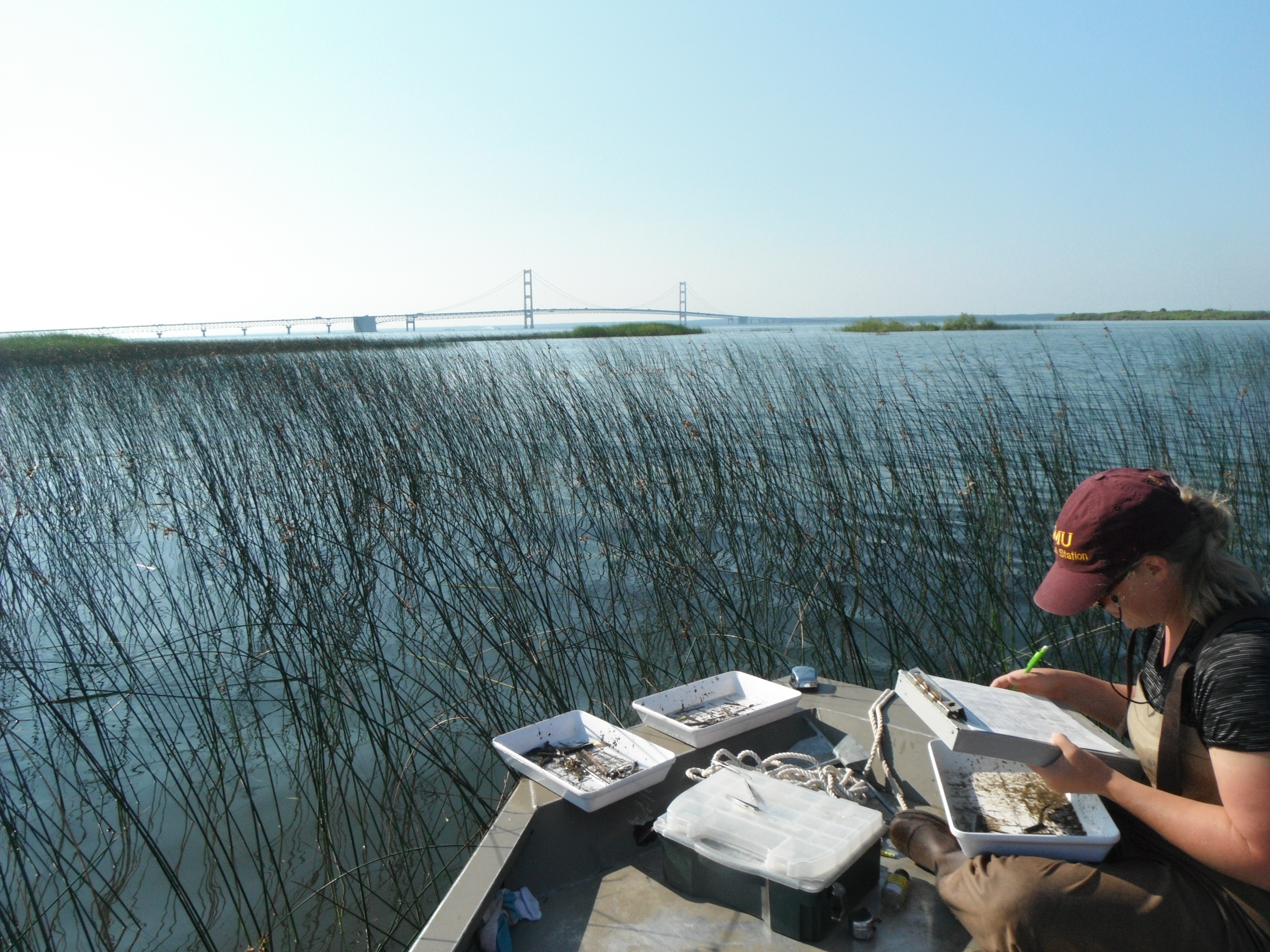 Photo by CMU Institute for Great Lakes Research