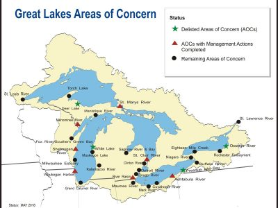 Progress and problems define Great Lakes legacy sites cleanup