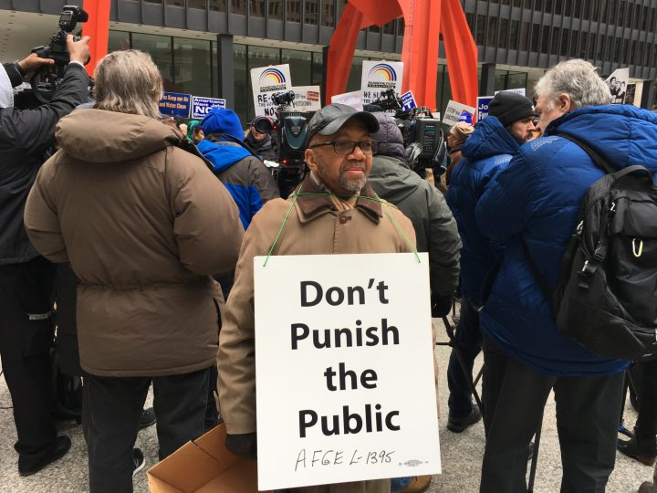 Federal employees hit streets in Great Lakes region to protest government shutdown