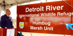 Photo by Detroit River International Wildlife Refuge via John Hartig