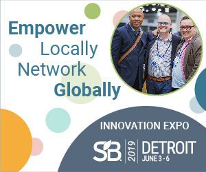 Empower Locally Network Globally - Innovation Expo - Sustainable Brands 2019 Detroit June 3-6.