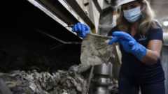 Epidemic of wipes and masks plagues sewers, storm drains