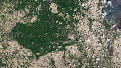 NASA images show impact of Midland County flooding