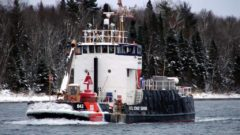 Oldest Coast Guard cutter with smallest crew and largest Great Lakes responsibility needs replacing