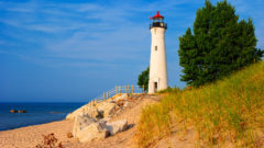 Grants to help with repairs, rehabilitation at 3 lighthouses