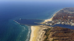 Lake Michigan town installing lights to improve beach safety