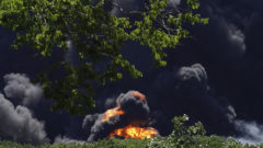 Illinois sues owner of plant where fire prompted evacuations