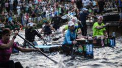 Paddle Battle: International canoe race brings families together